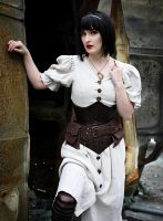 Steampunk Snow White by KyaWolfwritten