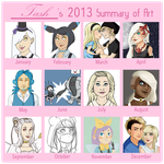 Art Summary 2013 by pink-converses