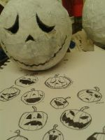 W:I:P PUMPKIN HEAD by TeapotMysteries
