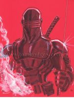 SnakeEyes 40 by Hodges-Art