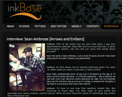 Sean Ambrose InkBase.org Interview by seanspoison