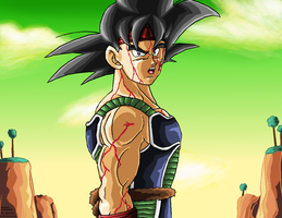 Bardock on Nameck REMASTERED by JJJawor