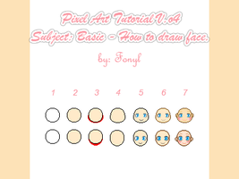 Pixel Art Tutorial: Draw face by Fonyl