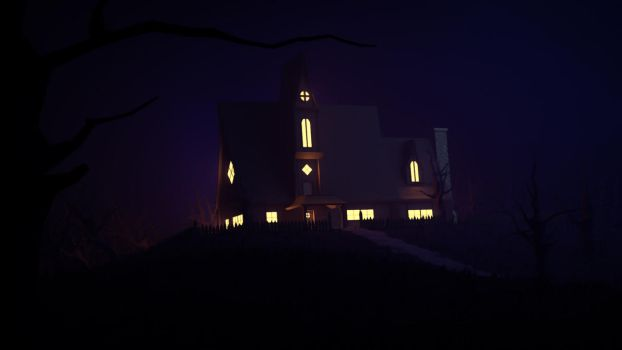 Haunted House by Xiox231