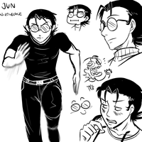 Jun doodles by JutaWi