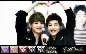 Luhan and Xiumin wallpaper by KpopGurl
