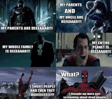 Deadpool is Only One Don,t Have Family by KeybladeMagicDan