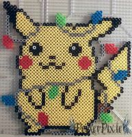 Pikachu Lights by PerlerPixie