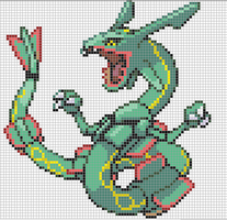 Rayquaza (Large) by Hama-Girl