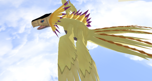 Phoenixmon by Valforwing
