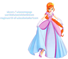 Winx Club Bloom Princess PNG! by Magic-World-of-Winx