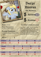 Derpy Hooves - Investigator Card by Konsumo