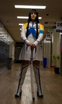 Satsuki:World's Most Intimidating Hall Monitor by NocturnalRadiance