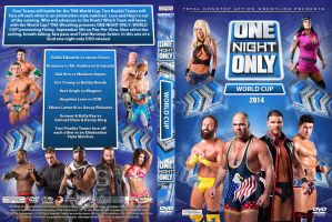 TNA One Night Only - World Cup 2014 DVD Cover by Chirantha