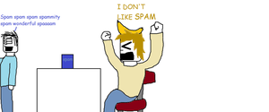 I Dont Like Spam by tigerclaw64