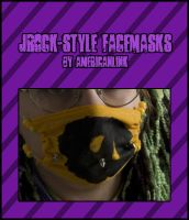 JRock-Style Face Mask by querulousArtisan