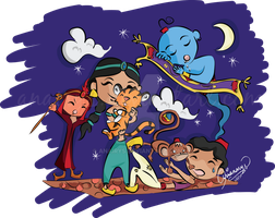 Aladdin and Co. by anairys
