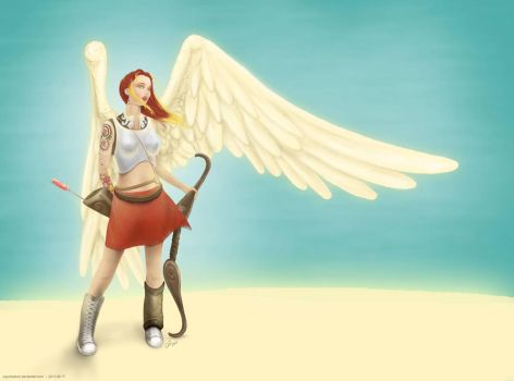 New Cupid - Listening to the wind by psychoduck