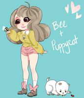 Bee+puppycat by KowaiRazor