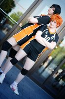 Haikyuu - Partner by aco-rea