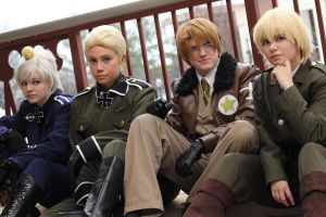 APH: Of Axis and Allies by x-Cappy