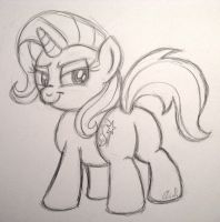 Commission:  The Great and Powerful Tushie by AleximusPrime