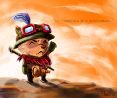 Captain Teemo by Skence