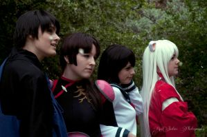 Inuyasha Group Shot by justinem1989