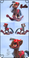 MLP Custom: G4 Sable the Rocking Horse by SD-DreamCrystal