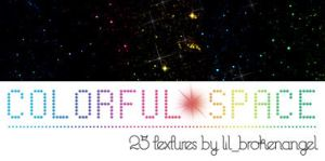 Textures - Colorful Space by lilbrokenangel