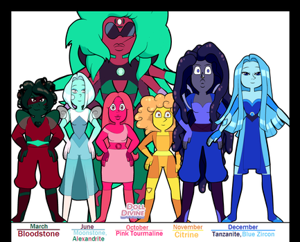 The...OTHER Birthstone Gems! by Captain-Chaotica