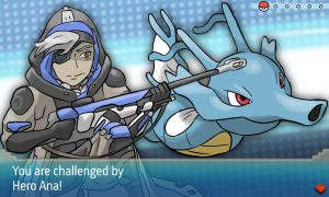 Overwatch Heroes and their Pokemon: Ana