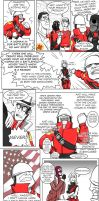 TF2_comicENG_02: Soldier's problems by sensei-mew