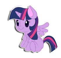 Princess Twilight Sparkle plushie by hikariviny