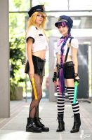 Panty and Stocking (Police) by Coockii