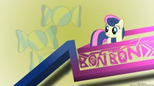Bon Bon Shapes Wallpaper by LuGiAdriel14