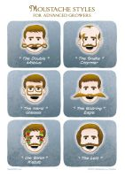 Moustache styles by LordRembo
