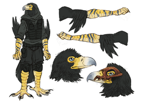 Design COMM: black-eagle-sniper by odvunir