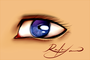 Eye by tnomania
