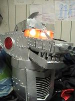 MechaGodzilla Costume Head by Virus-91