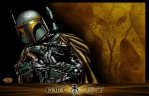 Boba Fett by Jake-Townsend