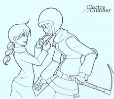 clarice et climber by arr-matey