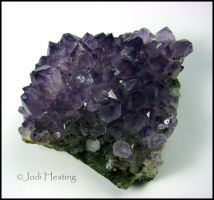 Amethyst Cluster by andromeda