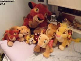 My Complete Lion King Plush Collection by LeoSandra85
