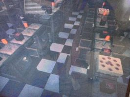 Dinning Area, Five Nights At Freddy's by Boyscoutwizard