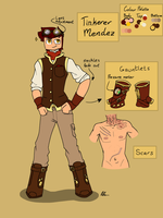 Tinkerer Mendez by SilverWingInk