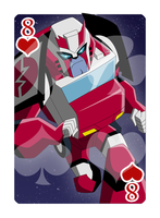 8 of Hearts Ratchet by Shioji-san