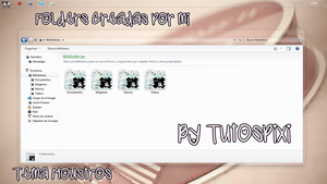 Tema Iconpackager Moustros by TutosPixi
