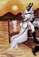 Nightfell Aceo 2 by Vlcek