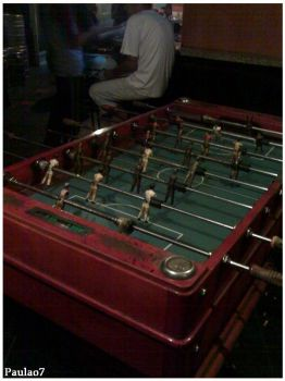 .table football. by Aya-chan2D